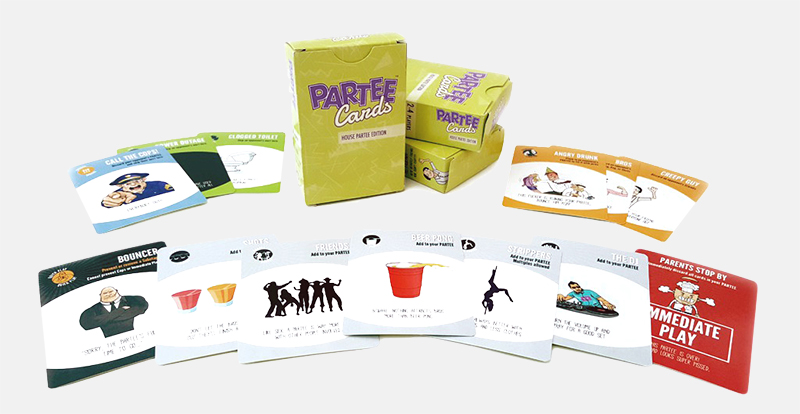 A fun game about partying