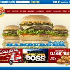 TVI Design: Johnny Rockets Website