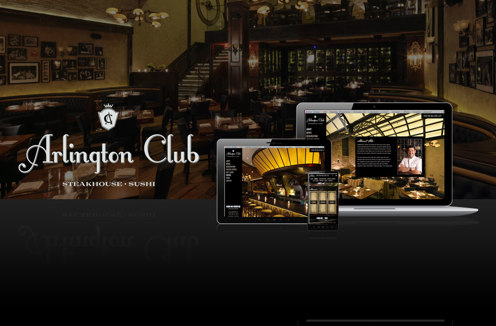 Tvi restaurant web design