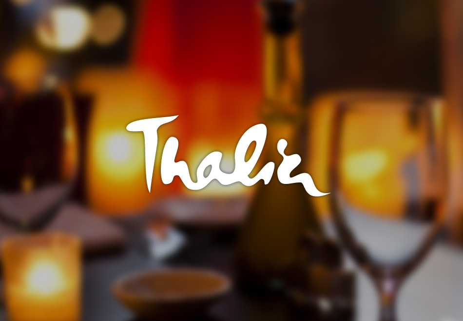 Restaurant Thalia website by TVI Designs
