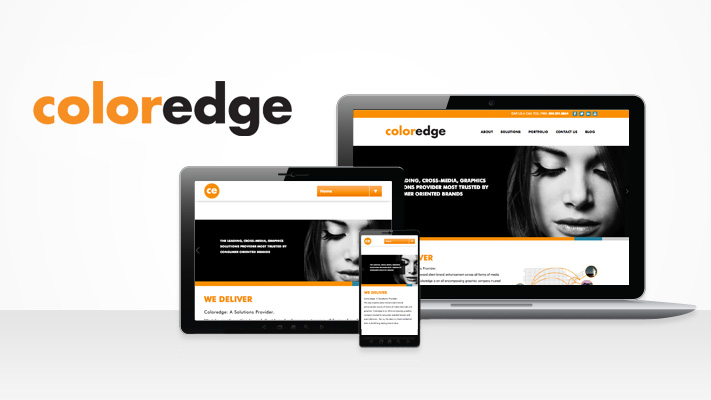 New Color Edge Website - TVI Creative Agency