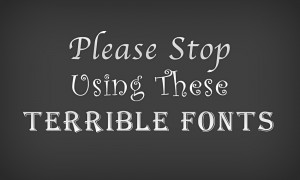 Obnoxious Fonts - Positioning a Brand - TVI Designs
