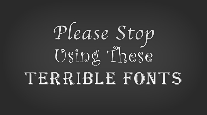 Obnoxious Fonts - Brand Marketing - TVI Designs