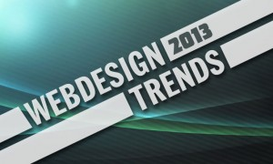 Webdesign Trends 2013 - TVI Designs