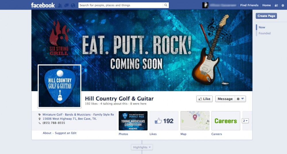 Hill Country Golf and Guitar