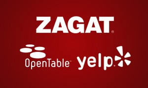 Zagat Opentable Yelp