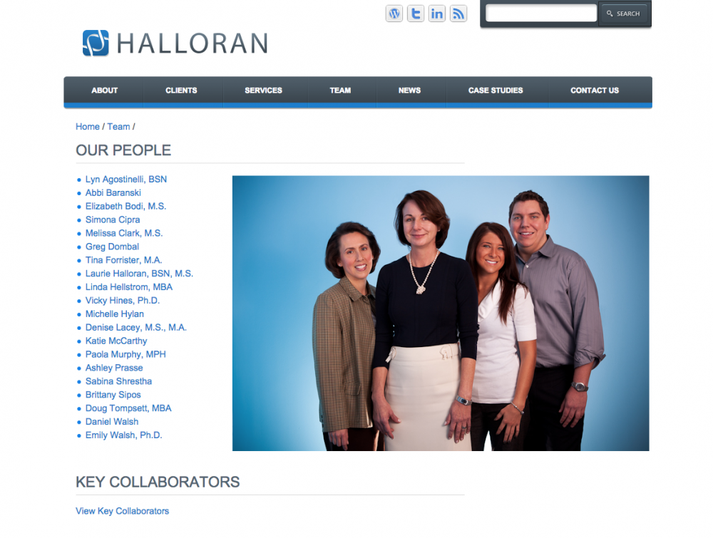 Halloran Consulting Group Before