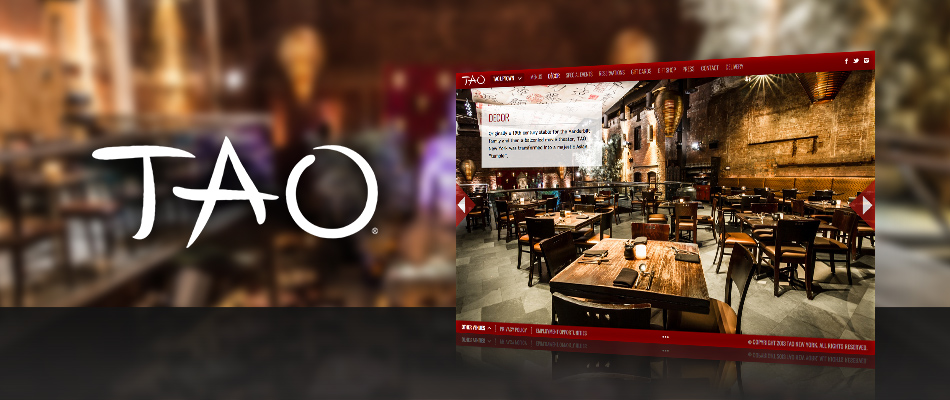 TAO website by TVI Designs